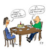 Cartoon: Noch Kuchen ? (small) by Florian France tagged kuchen,face,book,kommunikation