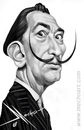 Cartoon: Dali (small) by Mecho tagged dali,artist,art