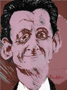 Cartoon: nicolas sarkozy (small) by ivo tagged wau