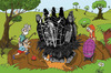 Cartoon: prison (small) by ivo tagged wow