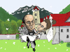 Cartoon: wedding... (small) by ivo tagged wau