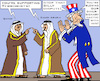 Cartoon: Blowing Dispute (small) by RachelGold tagged saudi,arabia,qatar,usa,isis,liga,ally,blowing