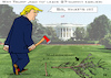 Cartoon: G7 - Trump vs. Macron (small) by RachelGold tagged g7 summit usa canada france trump macron ex friends
