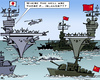 Cartoon: Islands? (small) by RachelGold tagged conflict,china,japan,islands,diaoyu,senkaku