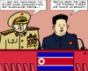 Cartoon: Stop of nuclear arming (small) by RachelGold tagged north,korea,nuclear,arming,kim,jong,un