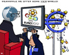Cartoon: View-Shield (small) by RachelGold tagged eu,euro,crisis,soccer,shield