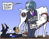 Cartoon: Just say Stop (small) by MarkusSzy tagged usa,nsa,obama,world,diplomacy,spying,control