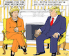 Cartoon: Warmly Welcome (small) by MarkusSzy tagged usa,germany,trump,merkel,reception,welcome,visit