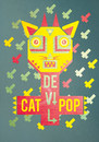 Cartoon: devil cat pop (small) by elmoro tagged illustration illustrator digital vector psychedelic trip art