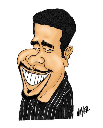 Cartoon: Ray Costa by Nayer (medium) by Nayer tagged ray,costa,cartoonist,brazil,nayer,sudan