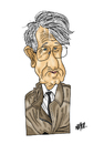 Cartoon: Jurgen Habermas (small) by Nayer tagged jurgen,habermas,german,germeany,philosopher,marx,marxist,philosophy