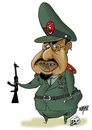 Cartoon: Omar al Bashir (small) by Nayer tagged omar,al,bashir,sudan,icc,international,criminal,court,darfur,genocide,islam,islamism