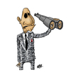 Cartoon: Vision (small) by Nayer tagged vision,lost,blind,blindness