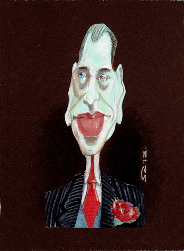 Cartoon: steve buscemi (medium) by zed tagged steve,buscemi,brooklyn,new,york,actor,director,writer,portrait,caricature