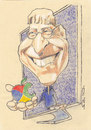 Cartoon: Bill Gates (small) by zed tagged bill,gates,seattle,usa,business,filanthrop,microsoft,famous,people,portrait,caricature