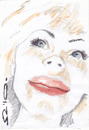 Cartoon: Edda von Sinnen (small) by zed tagged edda,von,sinnen,germany,artist,friend,portrait