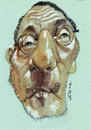 Cartoon: jean reno (small) by zed tagged jean,reno,juan,moreno,france,spain,actor,portrait,caricature