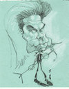 Cartoon: Nick Cave (small) by zed tagged nick,cave,australia,musician,performance,artist,portrait,caricature