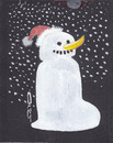 Cartoon: Schneemann (small) by zed tagged snowman,global,warming,banana,weather,nature