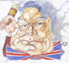 Cartoon: Winston Churchill (small) by zed tagged winston,churchill,oxfordshire,great,britain,politician,prime,minister,second,world,war,famous,people,portrait,caricature