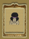 Cartoon: the ape in history-no.8-hendrix (small) by schmidibus tagged jimi hendrix gitarrist komponist sänger woodstock