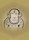 Cartoon: the ape in me (small) by schmidibus tagged ape,affe,monkey,selfportrait,selbstporträt,selbstbildnis,erkenne,dich,selbst,gnothi,seauton,heraklit,delphi,platon,apollon,antik,griechisch,gott