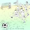 Cartoon: Running for a goal is important (small) by firuzkutal tagged football,world,cup,russia,germany,italia,brasil,fair,play,soccer,fan,ball,game,holligan
