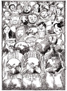 Cartoon: World Refugee Day 20 June (small) by firuzkutal tagged refuge,un,immigrant,people,differences,war,political