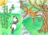 Cartoon: come with me! (small) by Metalbride tagged traiding,card,crads,karten,karte,sammelkarte