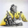 Cartoon: Mauli Space-Art (small) by Jupp tagged maulwurf,mole,space,art,weltraum,jupp,illustration