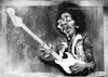 Cartoon: Jimi Hendrix (small) by slwalkes tagged jimi,hendrix,stephen,lorenzo,walkes,digital,painting,wacom,caricature