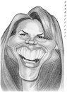 Cartoon: Missy Peregrym (small) by shar2001 tagged caricature missy peregrym