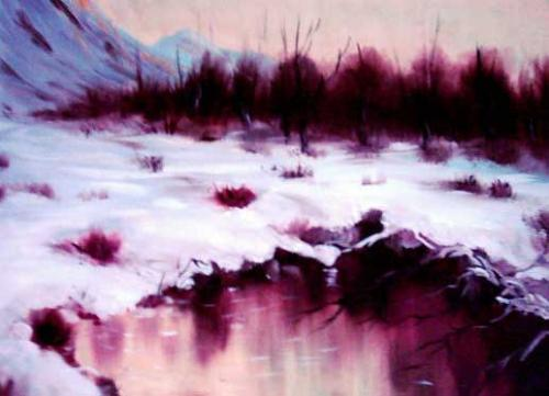 Cartoon: Frozen River (medium) by nikooray tagged frozen,river