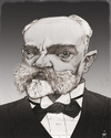 Cartoon: Antonin Dvorak (small) by Mattia Massolini tagged dvorak caricature