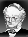 Cartoon: Richard Wagner (small) by Mattia Massolini tagged wagner
