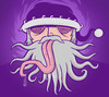 Cartoon: Medusa Santa (small) by Playa from the Hymalaya tagged santa,claus,weihnachtsmann,christmas,weihnachten,xmas,medusa,tongue,zunge
