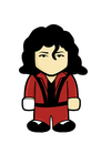 Cartoon: Michael Jackson (small) by Playa from the Hymalaya tagged michael,jackson,mj,king,of,pop,music,musik,popstar,star,celebrity,thriller