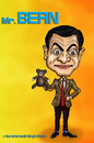 Cartoon: Mr. Bean Caricature (small) by gursharanthecartoonist tagged rowan,atkinson