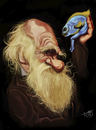 Cartoon: Charles Darwin (small) by Toni DAgostinho tagged charles,darwin