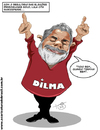 Cartoon: Lula (small) by Toni DAgostinho tagged lula