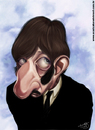 Cartoon: Ringo Starr (small) by Toni DAgostinho tagged the,beatles