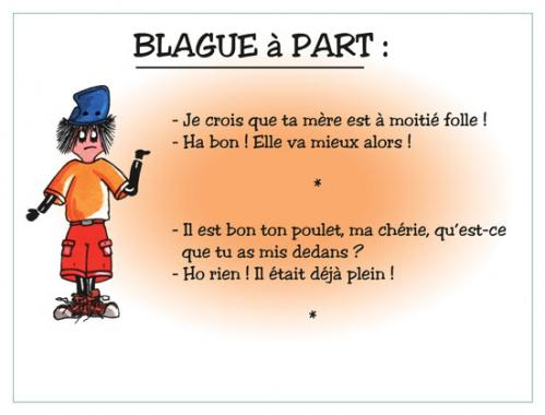 Cartoon: BLAGUE A PART (medium) by chatelain tagged humour,blague,chatelain