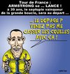 Cartoon: ARMSTRONG se Lance ! (small) by CHRISTIAN tagged armstrong,cyclisme,tour,de,france