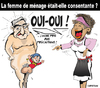Cartoon: Femme de menage consentante ? (small) by CHRISTIAN tagged dominique,strauss,kahn,ps,fmi