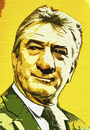 Cartoon: de niro (small) by kalams tagged de niro