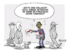Cartoon: Obama wirbt (small) by FEICKE tagged syrien,usa,president,präsident,obama,kongress,senat,zustimmung,werbung
