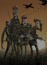 Cartoon: Least we forget 11-11-11 (small) by jonmoss tagged paratroopers,illustration,remembrance,day