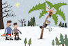 Cartoon: New Year tree (small) by belozerov tagged palm,palme,tannenbaum,weihnachten,weihnachtsbäume,tanne,new,year,tree,christmastree,wald,forest,monkey,affe,holzfällerr