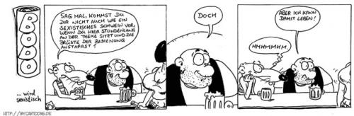 Cartoon: Bodo wird sexistisch (medium) by mil tagged comic,bodo,mil