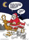 Cartoon: Rentier (small) by mil tagged christmas,cartoon,mil,rentier